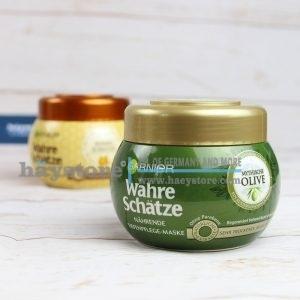 Kem ủ phục hồi tóc OLIVE - GARNIER WAHRE SCHÄTZE