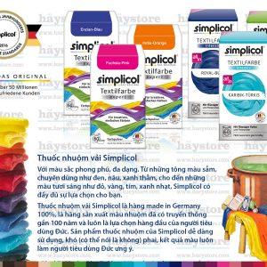 Màu nhuộm Simplicol – Hướng dẫn nhuộm và những lưu ý