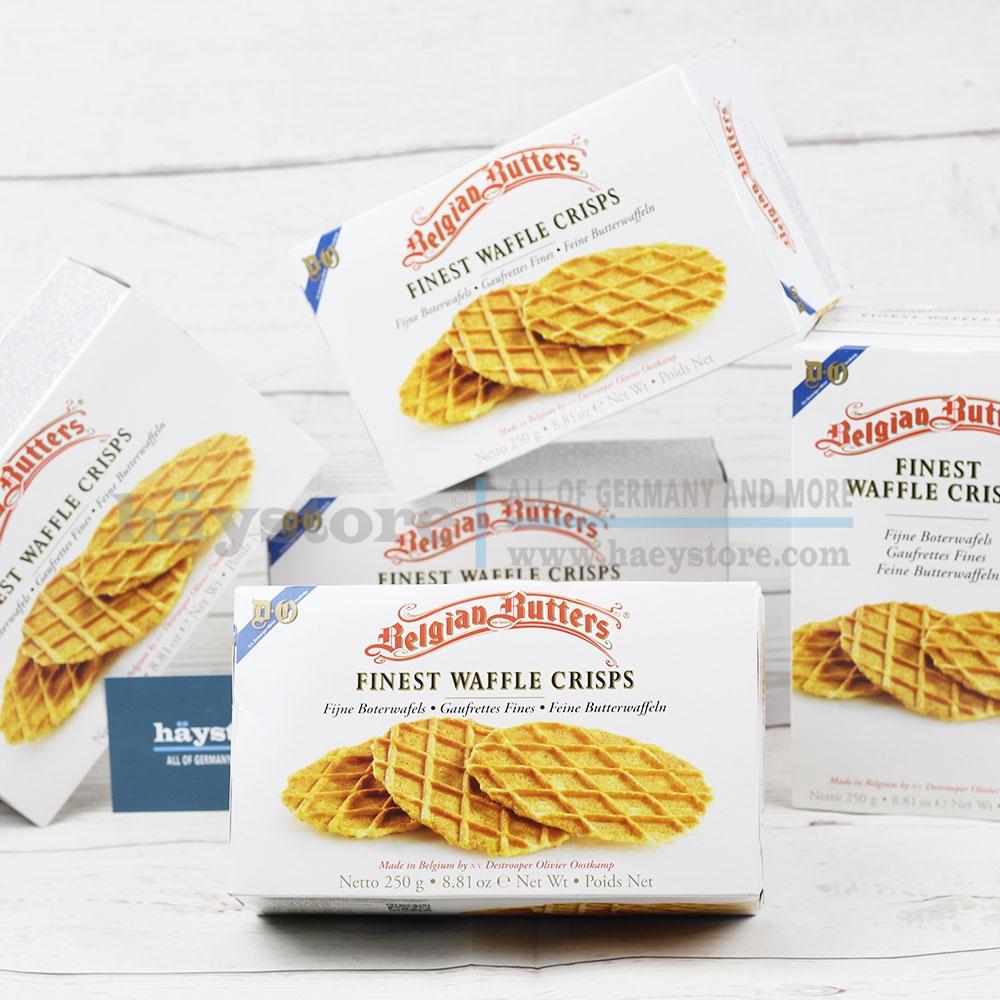 Bánh waffle - Bánh bơ kẹp của Bỉ