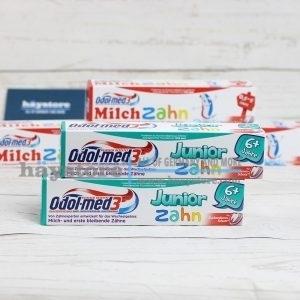 Kem đánh răng trẻ em Odol Med 3 - Junior
