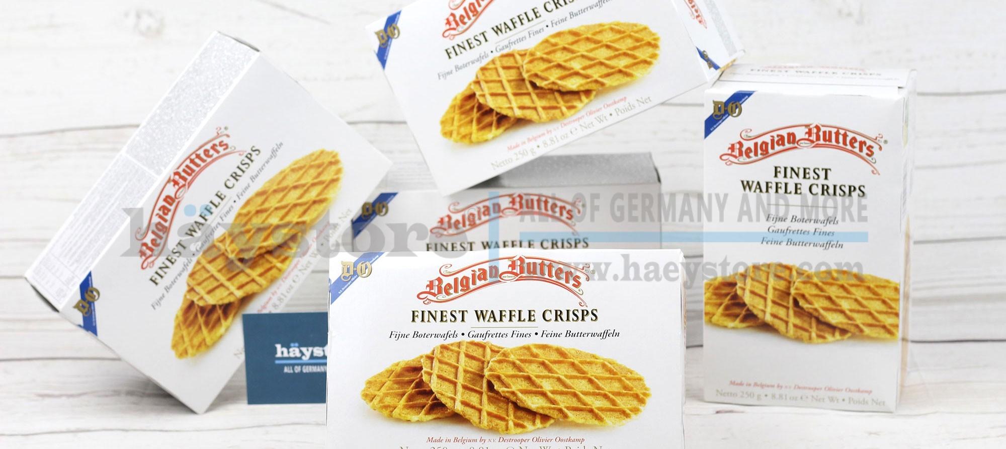 Bánh waffle - Bánh quế kẹp bơ Bỉ