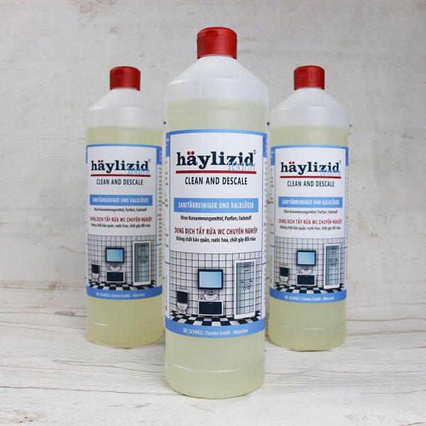HÄYLIZID SENSITIV - Dung dịch tẩy rửa, làm sạch chuyên nghiệp 1L
