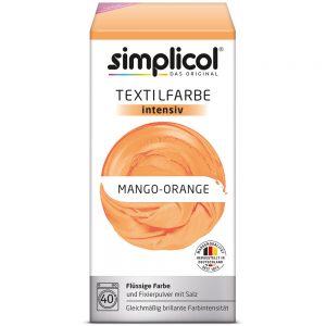Màu nhuộm da cam (Textilfarbe Intensiv Mango-Orange - 1802)