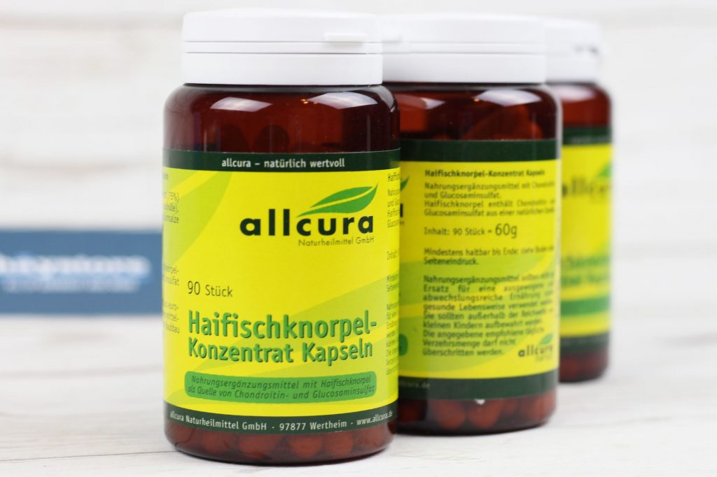 Sụn vi cá mập organic Allcura - made in Germany