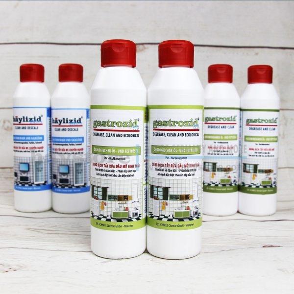 Dung dịch làm sạch dầu mỡ sinh thái GASTROZID ECO
