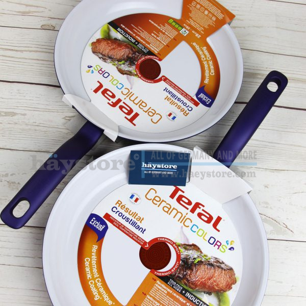Chảo rán Tefal Ceramic Colors