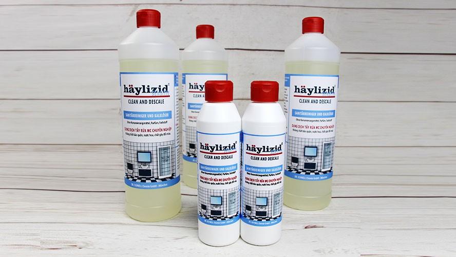 HÄYLIZID SENSITIV - Dung dịch tẩy rửa, làm sạch chuyên nghiệp