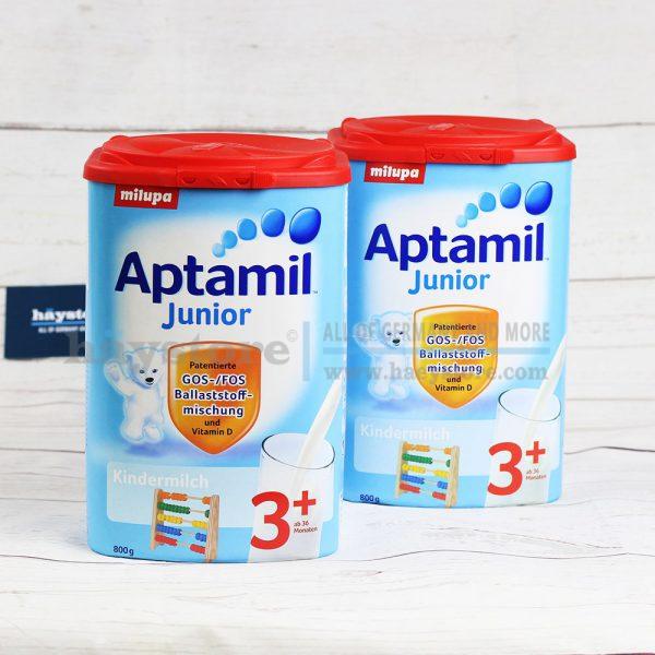 Sữa Aptamil Junior 2+ cho trẻ em từ 2 tuổi - Hộp 800g