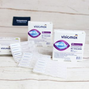 Thuốc nhỏ mắt Visiomax với Hyaluron - Dưỡng ẩm, làm trơn bề mặt tròng mắt