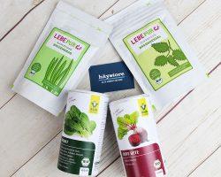 Bột toàn tính các loại rau hữu cơ - Thức uống hóa huyết- sinh tinh