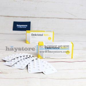 Vitamin D Dekristol 400 I.E cho trẻ mới sinh